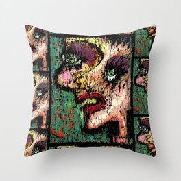What u have sown Throw Pillow