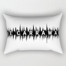 The Carraways Sound bite Rectangular Pillow