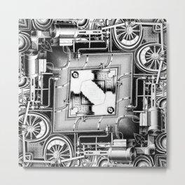 Steam Engine of Eternity Metal Print