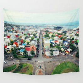 Reykjavik, Iceland Wall Tapestry