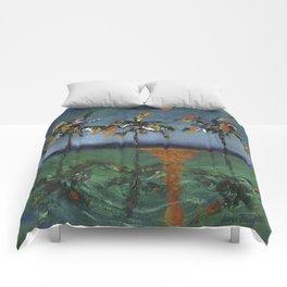 Sun Palms Comforters