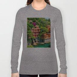 Italy. Portofino Long Sleeve T-shirt