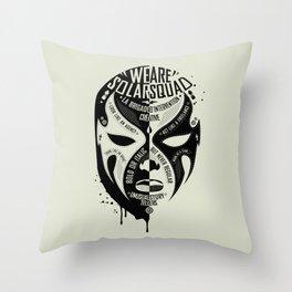 SOLAR SQUAD MAN 3 Throw Pillow