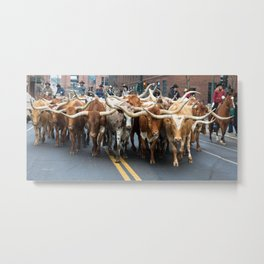 National Western Stock Show Parade Metal Print