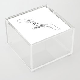 How to roll up your sadness? Acrylic Box