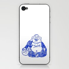 CMYK BUDDHA iPhone & iPod Skin
