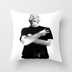 Slash Three! Throw Pillow