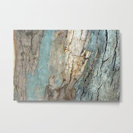 Eucalyptus Tree Bark 9 Metal Print