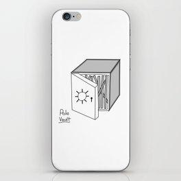 Pole vault iPhone Skin