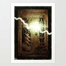Electric Art Print