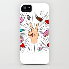 Modern Life iPhone Case