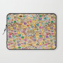 Emoticon pattern Laptop Sleeve