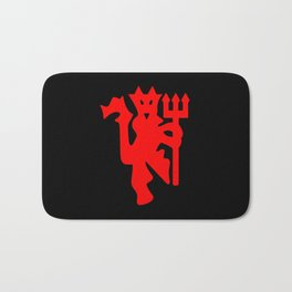 The Red Devil Bath Mat