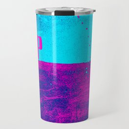 UP pink: over and under earth and sky Travel Mug
