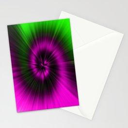 TIE DYE #1 (Magentas & Greens) Stationery Cards
