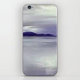 River View in Purple iPhone Skin