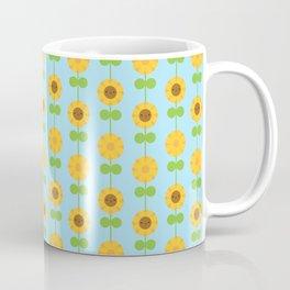 Kawaii Sunflowers Coffee Mug