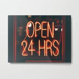 Ritz Diner, UES 02 Metal Print