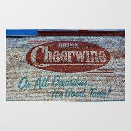 Cheerwine Sign 1 Rug