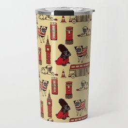 London Pug Travel Mug