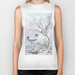 Winter Feeling Biker Tank