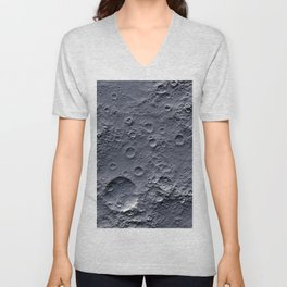 Moon Surface Unisex V-Neck
