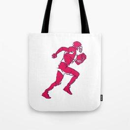 Lineman Football Tote Bag