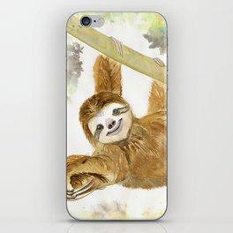 Smiley Sloth iPhone Skin
