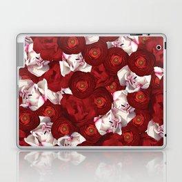 Belle Fleur: Tulip Ranunculus Laptop & iPad Skin