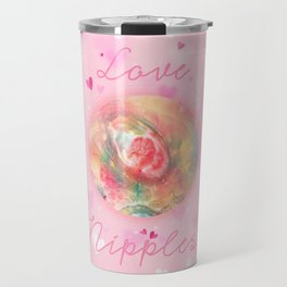 Love Nipples with Devon DeVille666 Travel Mug