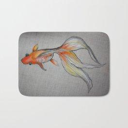 Goldfish Pond (close up #6) #society6 #decor #buyart Bath Mat