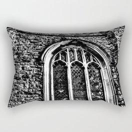 Ancient Church  Rectangular Pillow