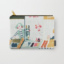 Market Stalls Carry-All Pouch