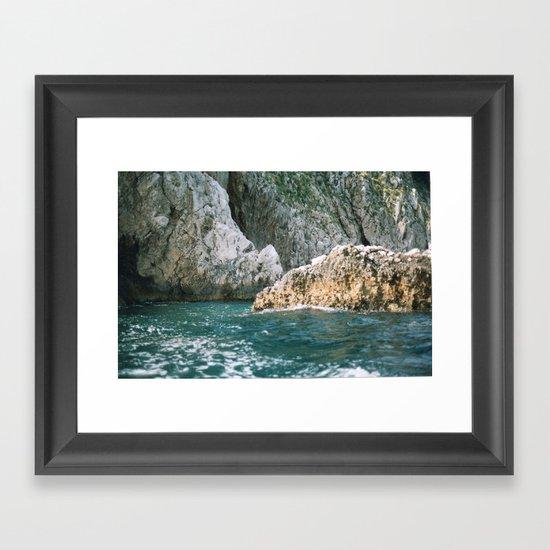 Capri 2 Framed Art Print
