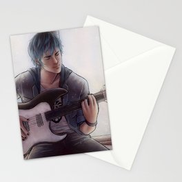 Luka - Blue Stationery Cards
