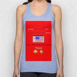 America FIrst Unisex Tank Top