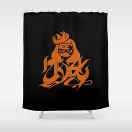 Order - Splatoon 2 Splatocalypse Splatfest bls Shower Curtain