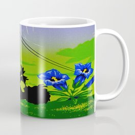 Diablerets Mountain Swiss Alps Travel Coffee Mug