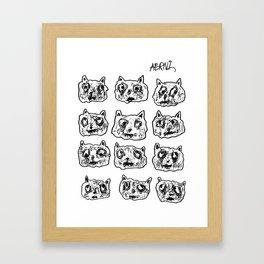 Street Cats Framed Art Print