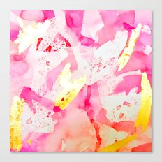 Softly Pink 2 Canvas Print