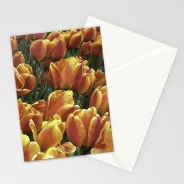 Orange Tulips at Tulip Festival Stationery Cards