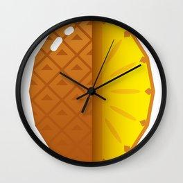 Juicy pineapple Wall Clock