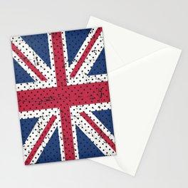 Retro Vintage Distressed UK Flag Stationery Cards