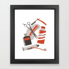 His Framed Art Print