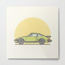 Porsche 911 935 bullnose vector illustration Metal Print