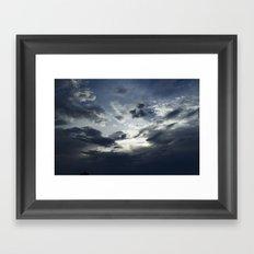Sapphire Framed Art Print