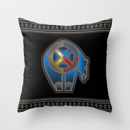 Bear Medicine Throw Pillow