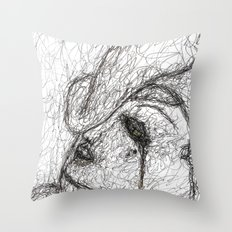 In The Dark Of It Throw Pillow