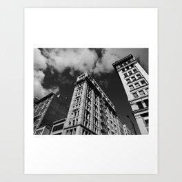 Look up New York 5 Art Print