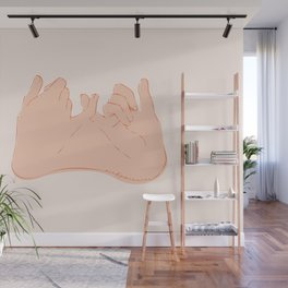 Pinky Promise Wall Mural